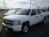 2009 Summit White Chevrolet Silverado 1500 LT Crew Cab 4x4 #42296006