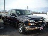 2006 Dark Blue Metallic Chevrolet Silverado 1500 LS Extended Cab #42296013