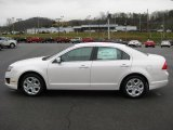 2011 White Platinum Tri-Coat Ford Fusion SE #42313878