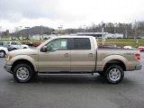 2011 Pale Adobe Metallic Ford F150 Lariat SuperCrew 4x4 #42313883