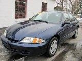 2002 Indigo Blue Metallic Chevrolet Cavalier LS Sedan #42314145