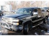 2006 Black Chevrolet Silverado 1500 LS Extended Cab 4x4 #42314249