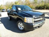 2009 Black Chevrolet Silverado 1500 LT Regular Cab #42326984