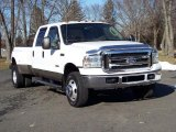 2005 Oxford White Ford F350 Super Duty Lariat Crew Cab 4x4 Dually #42326986