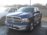 2011 Deep Water Blue Pearl Dodge Ram 1500 Big Horn Crew Cab 4x4 #42327201