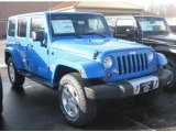 2011 Jeep Wrangler Unlimited Cosmos Blue