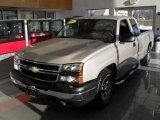 2006 Silver Birch Metallic Chevrolet Silverado 1500 LS Extended Cab #42327220