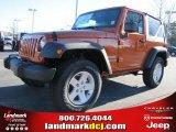 2011 Mango Tango Pearl Jeep Wrangler Sport S 4x4 #42326846