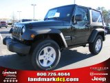2011 Natural Green Pearl Jeep Wrangler Sport S 4x4 #42326847
