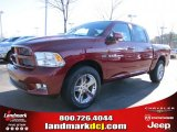 2011 Deep Cherry Red Crystal Pearl Dodge Ram 1500 Sport Crew Cab #42326852