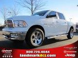 2011 Bright White Dodge Ram 1500 Laramie Crew Cab 4x4 #42326853