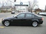 2008 Jet Black BMW 3 Series 328i Sedan #4219035