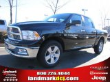 2011 Rugged Brown Pearl Dodge Ram 1500 Big Horn Crew Cab #42326858