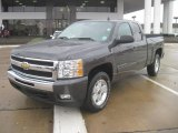 2010 Taupe Gray Metallic Chevrolet Silverado 1500 LT Extended Cab 4x4 #42327062