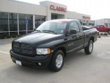 2004 Black Dodge Ram 1500 SLT Regular Cab #42327089