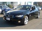 2009 Jet Black BMW 3 Series 328xi Coupe #42326724