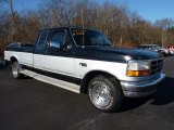 Silver Frost Metallic Ford F150 in 1996