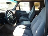 1996 Ford F150 XLT Extended Cab Grey Interior