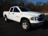 2004 Bright White Dodge Ram 1500 SLT Quad Cab 4x4 #42326918