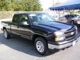 2007 Black Chevrolet Silverado 1500 Classic Work Truck Extended Cab #42327342