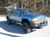 2004 Atlantic Blue Pearl Dodge Dakota Sport Quad Cab 4x4 #42327366