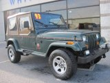 1993 Jeep Wrangler Hunter Green Metallic