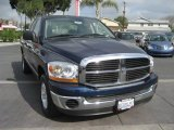 2006 Patriot Blue Pearl Dodge Ram 1500 SLT Quad Cab #4232383
