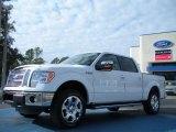 2011 Oxford White Ford F150 Lariat SuperCrew 4x4 #42378715