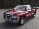 1995 Dodge Ram 1500 Claret Red Metallic