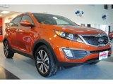 2011 Kia Sportage Techno Orange