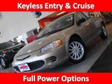 2002 Light Almond Pearl Metallic Chrysler Sebring LX Sedan #42378753