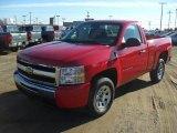 2011 Victory Red Chevrolet Silverado 1500 LS Regular Cab #42379233