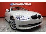 2011 Mineral White Metallic BMW 3 Series 335i Convertible #42379010