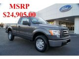 2011 Sterling Grey Metallic Ford F150 XL Regular Cab #42378761
