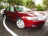 2007 Vivid Red Metallic Lincoln MKZ Sedan #42378574