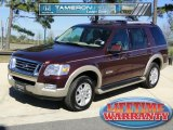 2006 Dark Cherry Metallic Ford Explorer Eddie Bauer #42379252