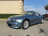 2001 BMW Z3 Atlanta Blue Metallic