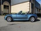 2001 BMW Z3 Atlanta Blue Metallic