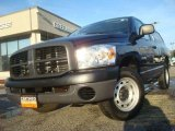 2008 Patriot Blue Pearl Dodge Ram 1500 ST Regular Cab #42378619