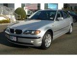 2005 Titanium Silver Metallic BMW 3 Series 325xi Sedan #42378622