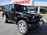 2010 Black Jeep Wrangler Sahara 4x4 #42378832