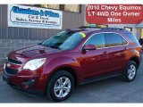 2010 Cardinal Red Metallic Chevrolet Equinox LT AWD #42378838