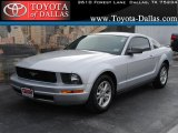 2007 Satin Silver Metallic Ford Mustang V6 Deluxe Coupe #42378651