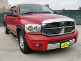 2006 Flame Red Dodge Ram 1500 Laramie Mega Cab #42378859