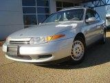2001 Bright Silver Saturn L Series L200 Sedan #42378676
