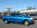 2008 Blue Streak Metallic Toyota Tundra Limited CrewMax 4x4 #42378875