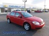 2007 Victory Red Chevrolet Cobalt LT Sedan #42379366