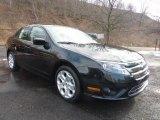 2011 Tuxedo Black Metallic Ford Fusion SE #42440029