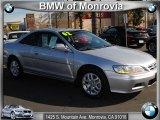 2002 Satin Silver Metallic Honda Accord EX V6 Coupe #42440274