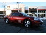 2003 Ultra Red Pearl Mitsubishi Eclipse GS Coupe #42439781